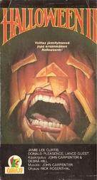 Halloween II - Finnish VHS movie cover (xs thumbnail)
