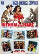 The Decks Ran Red - Italian Movie Poster (xs thumbnail)