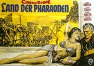 Land of the Pharaohs - German Movie Poster (xs thumbnail)