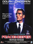 The Peacekeeper - Spanish Movie Poster (xs thumbnail)