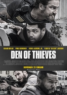 Den of Thieves - Swedish Movie Poster (xs thumbnail)
