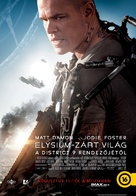 Elysium - Hungarian Movie Poster (xs thumbnail)