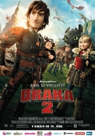 How to Train Your Dragon 2 - Slovak Movie Poster (xs thumbnail)