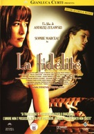 La fidélité - Italian DVD cover (xs thumbnail)