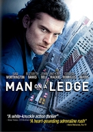 Man on a Ledge - DVD movie cover (xs thumbnail)