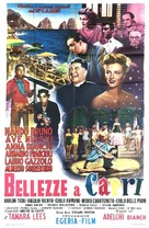 Bellezze a Capri - Italian Movie Poster (xs thumbnail)