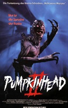 Pumpkinhead II: Blood Wings - German VHS cover (xs thumbnail)