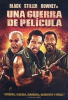 Tropic Thunder - Argentinian Movie Cover (xs thumbnail)