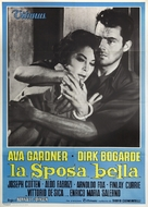 The Angel Wore Red - Italian Movie Poster (xs thumbnail)