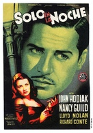 Somewhere in the Night - Spanish Movie Poster (xs thumbnail)