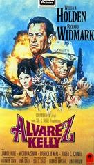 Alvarez Kelly - German VHS movie cover (xs thumbnail)
