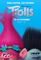Trolls - Spanish Movie Poster (xs thumbnail)