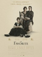 The Favourite - French Movie Poster (xs thumbnail)