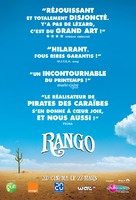 Rango - French Movie Poster (xs thumbnail)