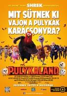 Free Birds - Hungarian Movie Poster (xs thumbnail)