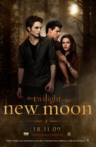 The Twilight Saga: New Moon - Italian Movie Poster (xs thumbnail)