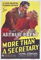 More Than a Secretary - Movie Poster (xs thumbnail)