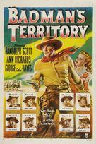 Badman's Territory - Movie Poster (xs thumbnail)