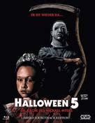 Halloween 5 - Austrian Blu-Ray cover (xs thumbnail)