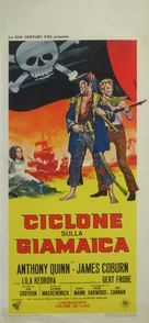 A High Wind in Jamaica - Italian Movie Poster (xs thumbnail)