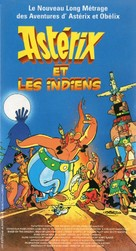 Asterix in Amerika - French Movie Cover (xs thumbnail)