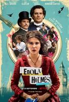 Enola Holmes - French Movie Poster (xs thumbnail)