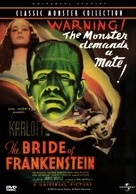 Bride of Frankenstein - DVD cover (xs thumbnail)