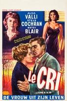 Il Grido - Belgian Movie Poster (xs thumbnail)