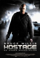 Hostage - Spanish Movie Poster (xs thumbnail)