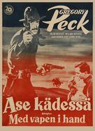 The Gunfighter - Finnish Movie Poster (xs thumbnail)