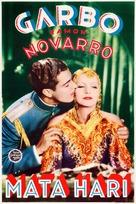 Mata Hari - Finnish Movie Poster (xs thumbnail)