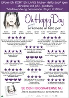 Oh Happy Day - Danish Movie Poster (xs thumbnail)