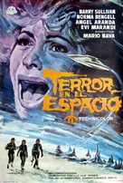 Terrore nello spazio - Spanish Movie Poster (xs thumbnail)