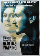 Dead Man Walking - Swedish Movie Poster (xs thumbnail)