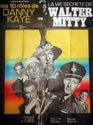 The Secret Life of Walter Mitty - French Re-release movie poster (xs thumbnail)