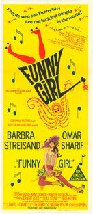 Funny Girl - Australian Theatrical movie poster (xs thumbnail)