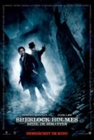 Sherlock Holmes: A Game of Shadows - German Movie Poster (xs thumbnail)
