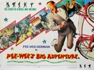 Pee-wee's Big Adventure - British Movie Poster (xs thumbnail)