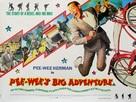 Pee-wee's Big Adventure - British Movie Poster (xs thumbnail)