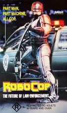 RoboCop - Australian VHS movie cover (xs thumbnail)