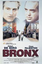 A Bronx Tale - Italian Theatrical movie poster (xs thumbnail)
