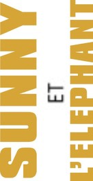 Sunny et l'éléphant - French Logo (xs thumbnail)