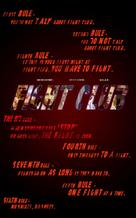Fight Club - VHS movie cover (xs thumbnail)