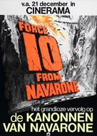 Force 10 From Navarone - Dutch Movie Poster (xs thumbnail)