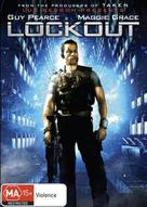 Lockout - Australian DVD cover (xs thumbnail)