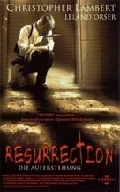 Resurrection - German VHS movie cover (xs thumbnail)