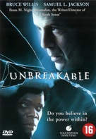 Unbreakable - Dutch Movie Cover (xs thumbnail)