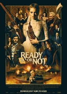 Ready or Not - German Movie Poster (xs thumbnail)