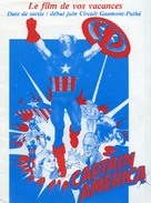 Captain America II: Death Too Soon - French Movie Poster (xs thumbnail)