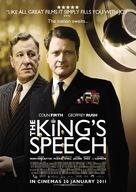 The King's Speech - New Zealand Movie Poster (xs thumbnail)